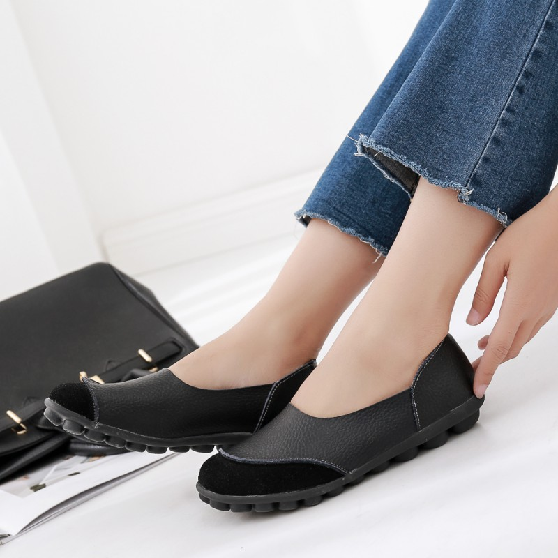 Women Flats 2018 New Fashion Spring Loafers Shoes Ladies Flats Casual Soft Flat Female Comfort Solid Basic Women Shoes DBT702 flat shoes women pu leather women s loafers 2016 spring summer new ladies shoes flats womens mocassin plus size jan6