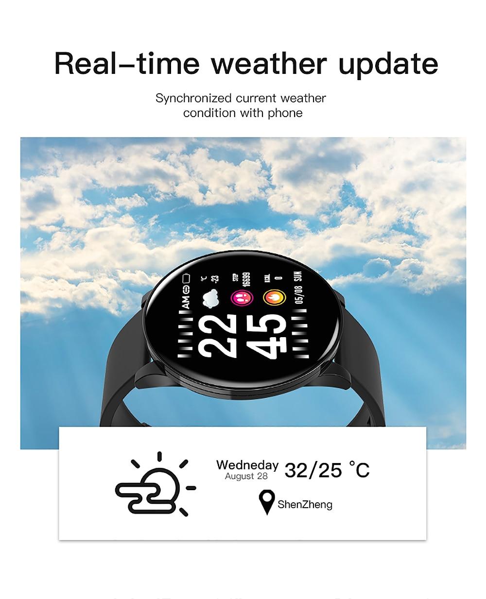 HTB1vP3qdB1D3KVjSZFyq6zuFpXaF Cobrafly W8 Smart Band Steel Strip IP67 Waterproof Fitness Tracker Watch Men Women Smart Sports Clock Heart Rate Monitor Watches