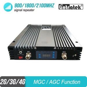Image 4 - Усилитель мобильного сигнала, 2 Вт, 2G 3G 4G 900 1800 2100 МГц, трехдиапазонный проект GSM UMTS LTE репитер, усилитель 85 дБ 2000 кв. М #46