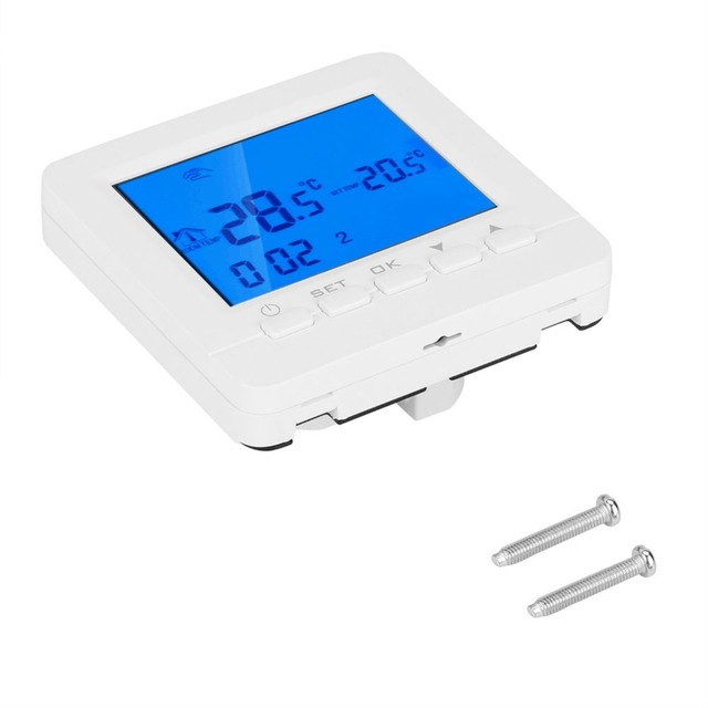 HY02B05 WiFi Smart Thermostat Temperature Controller Digital LCD Display  Thermostat For Water/Electric floor Heating Water