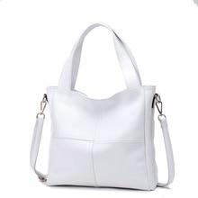 100% Soft Genuine Leather Hot Womens Shopping Shoulder Bag Cowhide Messenger Cross Body Bags Satchel Casual Handbags