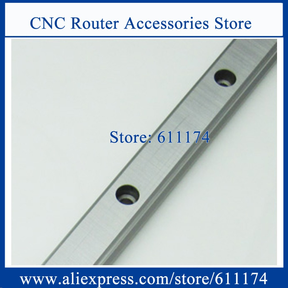 Original HIWIN Linear Guide Rail HGR15 L-1100mm square Linear Rail match for HGW15CC/HGH15CA linear bearing
