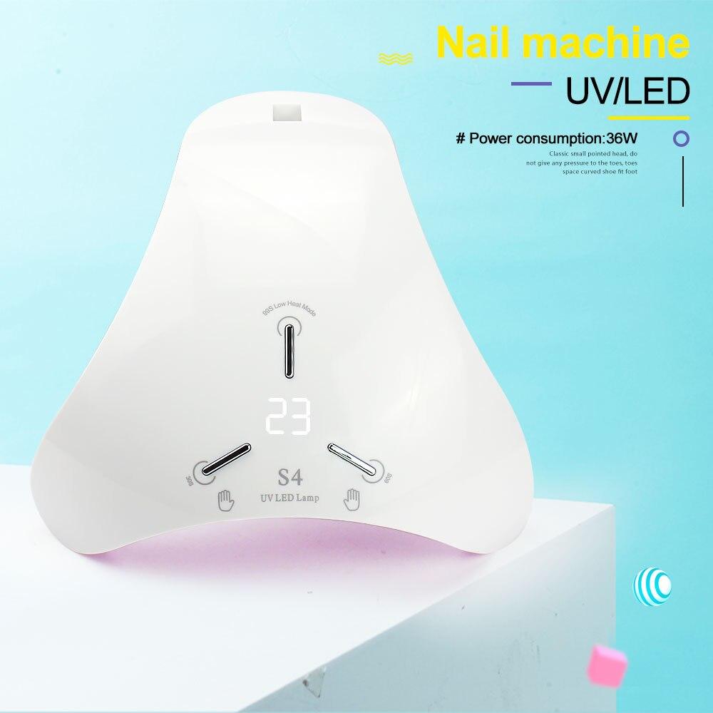 uv secador do prego gel manicure máquina