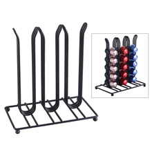 Coffee Capsules Dispensing Tower Stand Pod Holder Dispenser Fits Nespresso Capsule Storage Filter