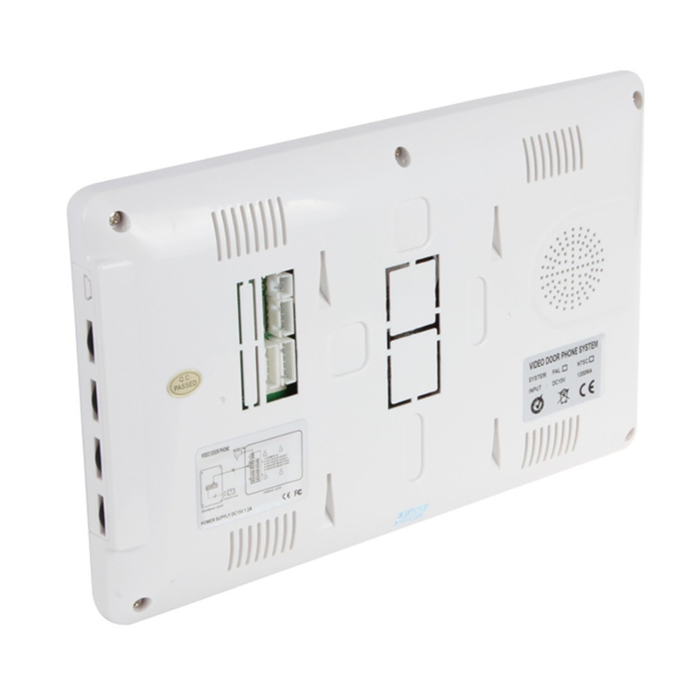 Good quality 7 inch video door phone wired door bell night version camera 7 color video intercom access controller
