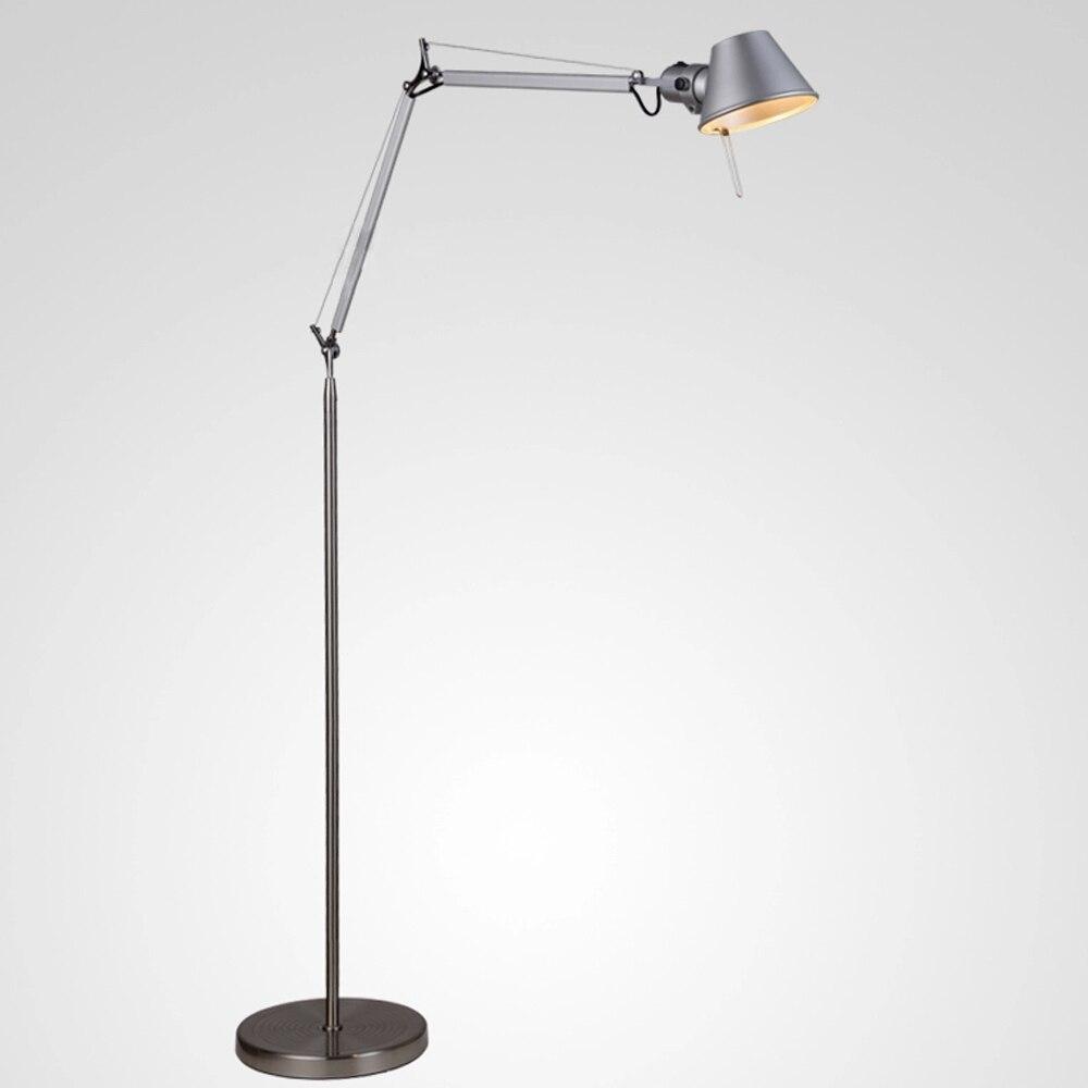 Marvelous Minimalistic Floor Lamp 1.5M Aluminum Hat Shape Office Lighting Standing  Lamp E27 Expansible Foyer Study