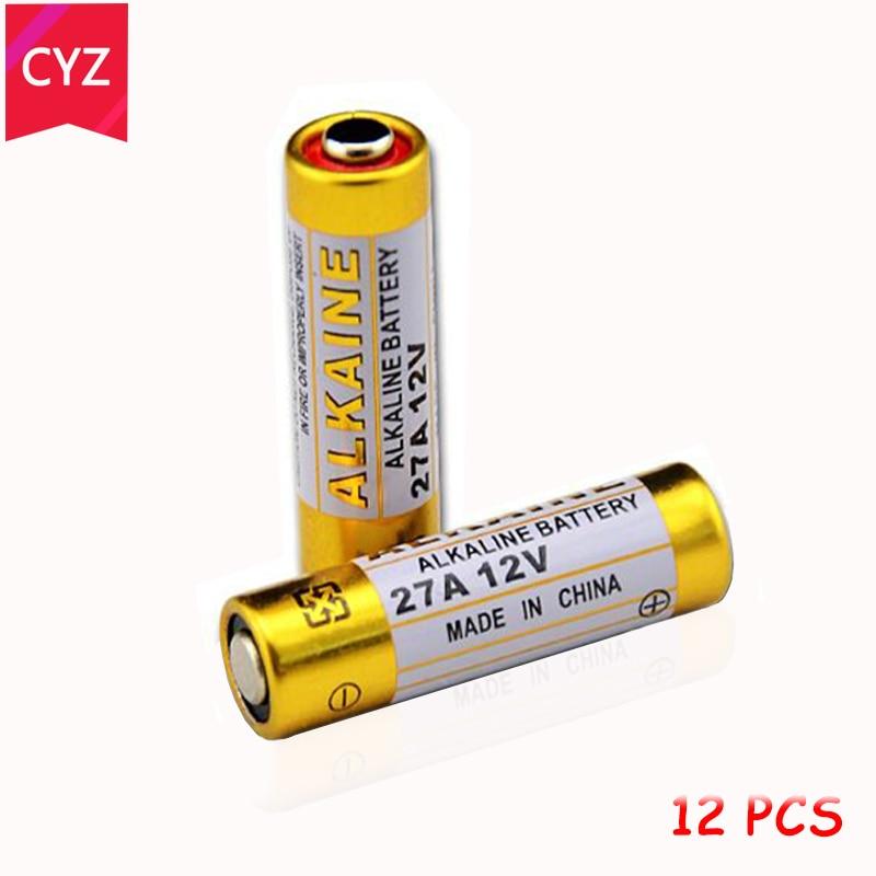 New 12pcs/lot 12V 27A MN27 27A L828 A27 Super Alkaline battery For Doorbell Remote Control Flashlight Etc
