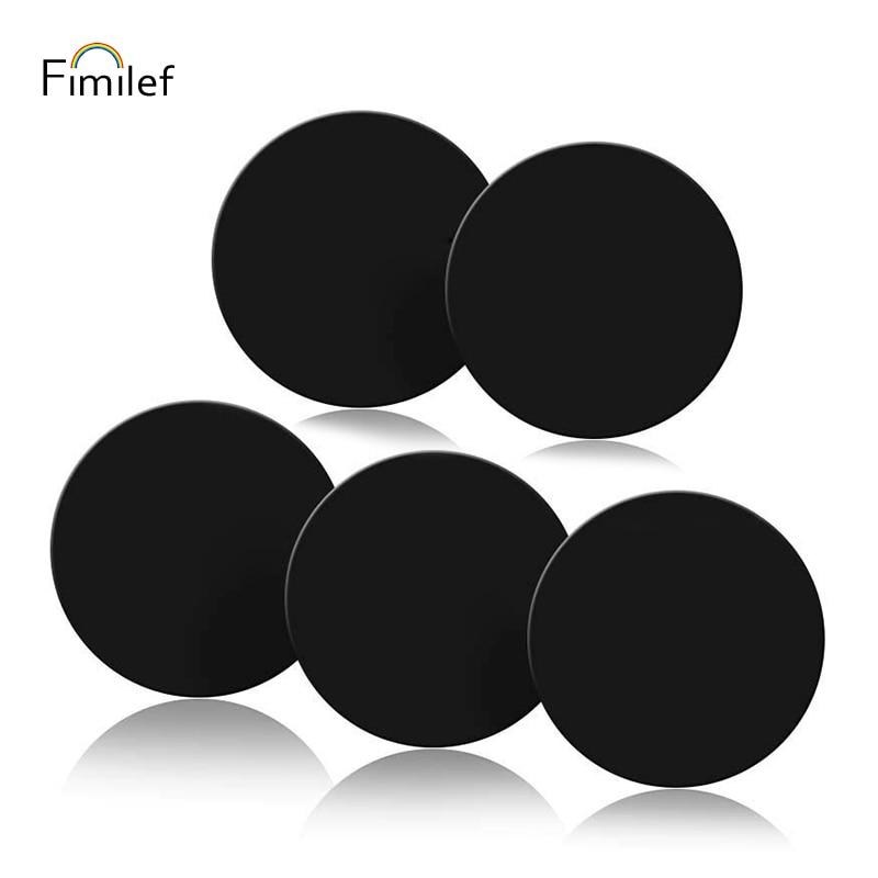 Fimilef металлическая пластина магнитный диск для Автомобильный держатель телефона магнит металлическая пластина для Air Vent Автомобильный дер…