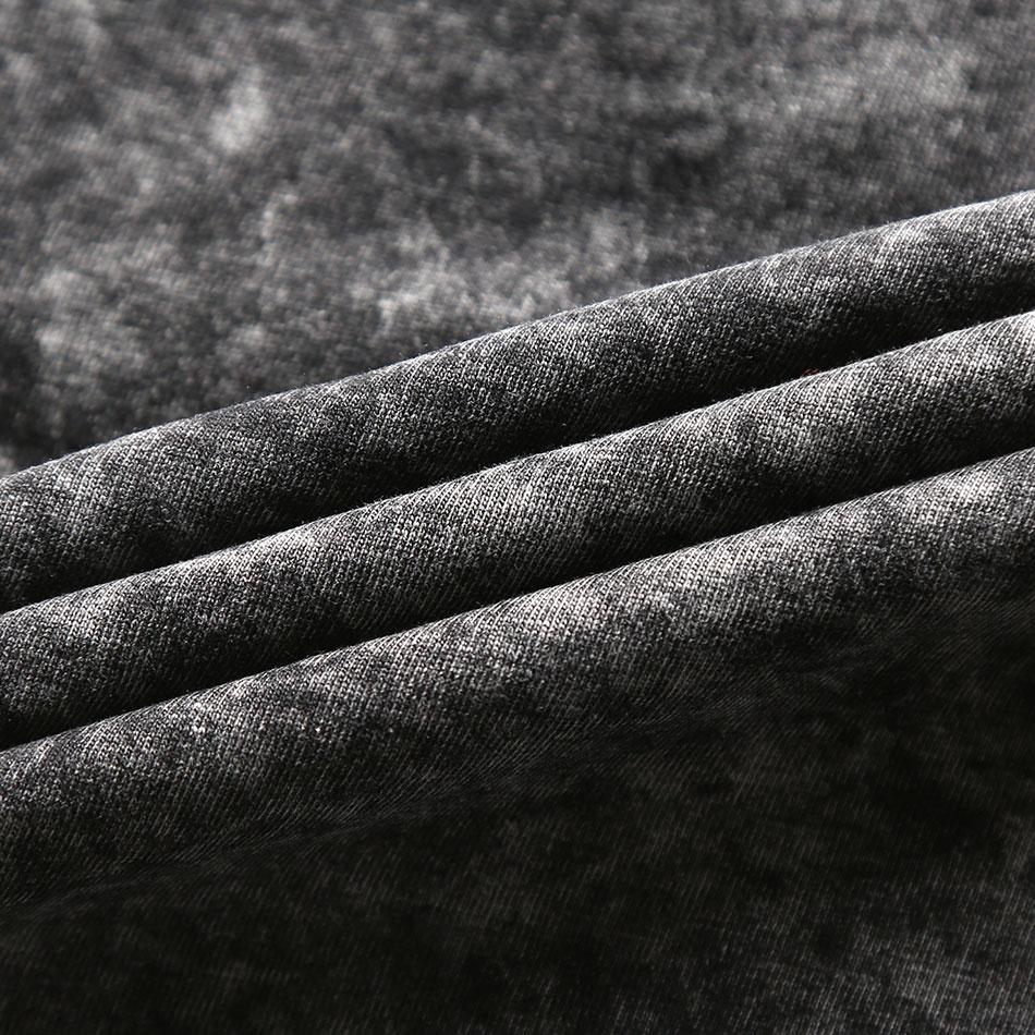 Zecmos Moda Crna Majica Muškarci Ležerne prilike V Neck T Majice za - Muška odjeća - Foto 5