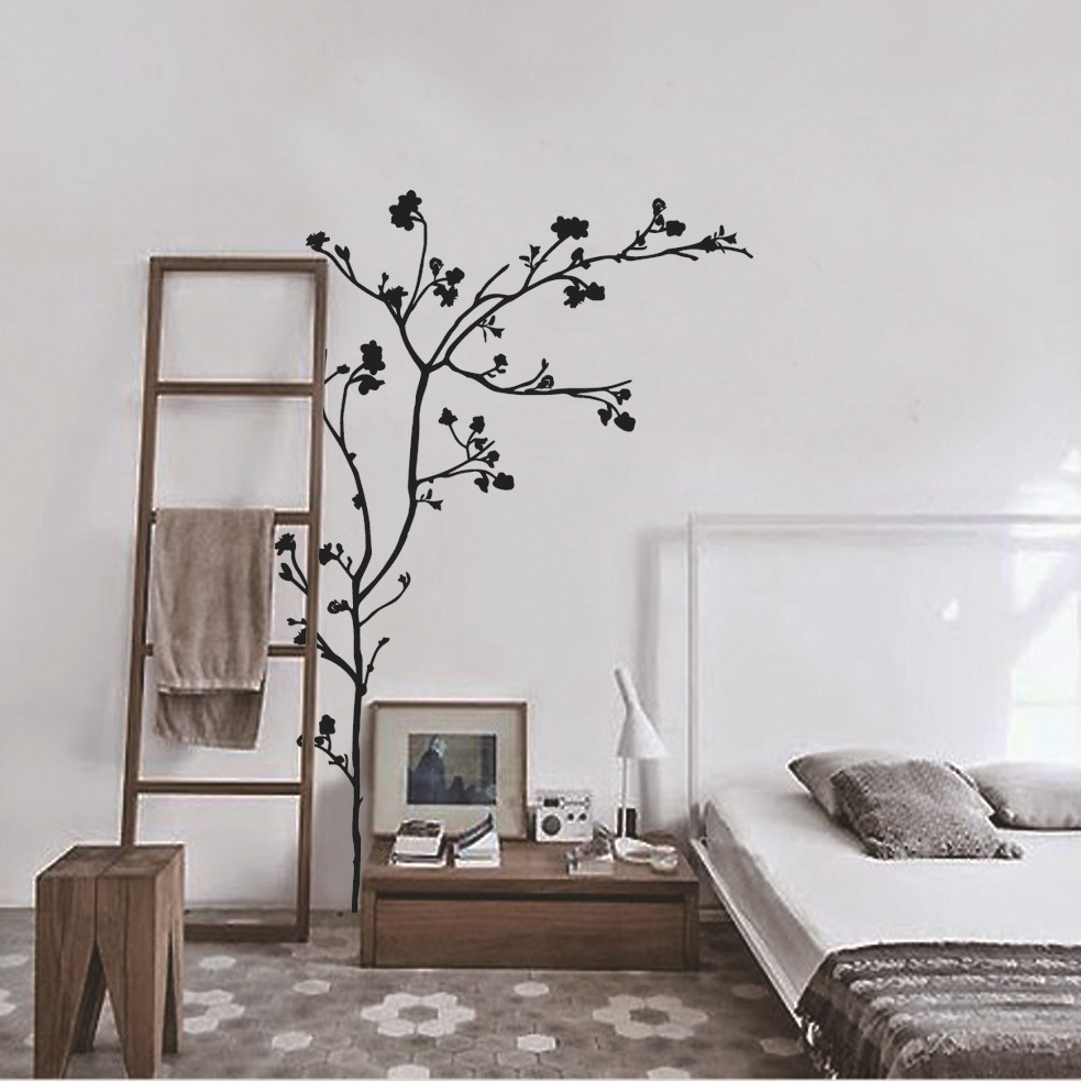Aliexpress.com : Buy Black Tree Wall Stickers Vinilos Decals Fashionable  Wallpaper Self Adhesive Vinyls Sofa Background Decor Window Decor From  Reliable ... Part 40