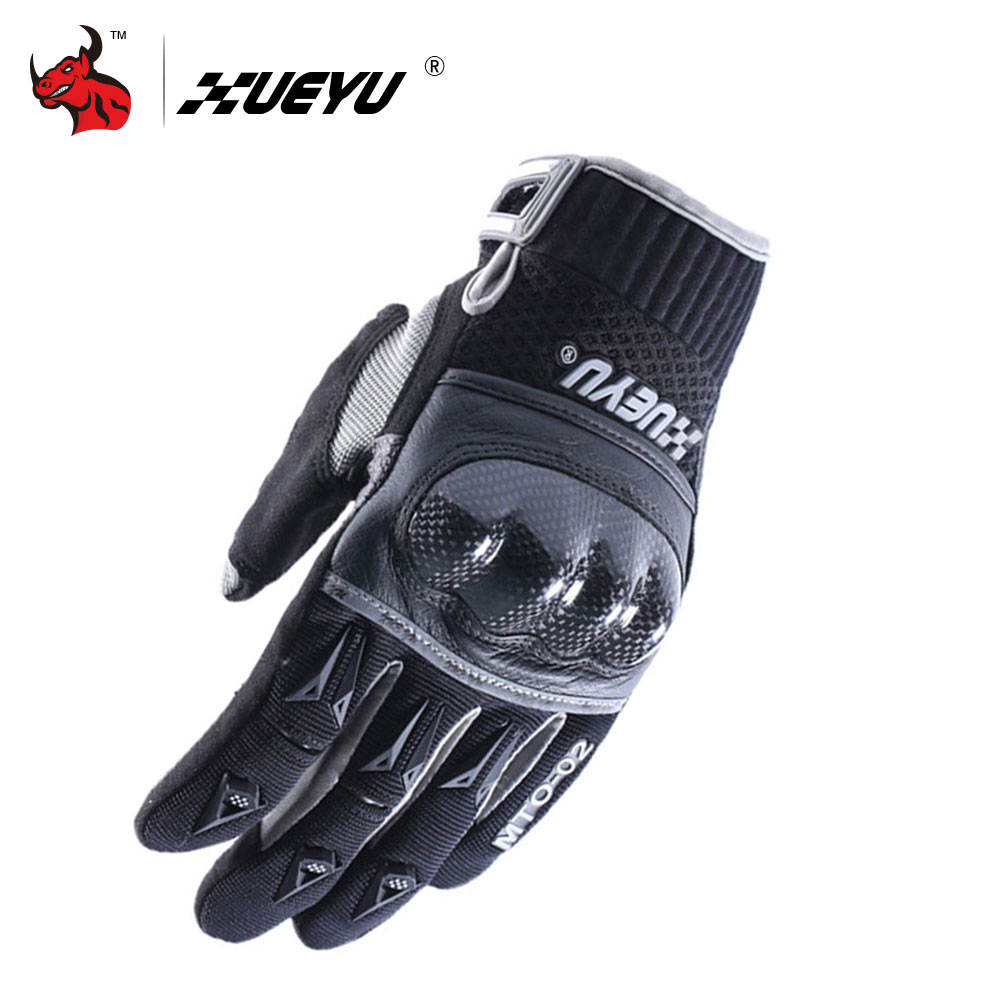 XUEYU Motorcycle Gloves Motocross Racing Gloves Moto Bike Racing Guantes Carbon Fiber Shell Motorbike Enduro Full Finger Luvas screen touch motorcycle gloves motorbike moto luvas motociclismo para guantes motocross 01c motociclista women men racing gloves