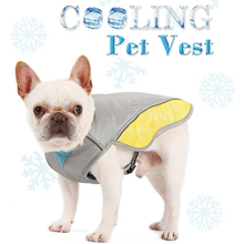 NACOCO Dog Cooling Vest Breathable Cool Jacket Prevent Heat Stroke Net Park Cotton Summer Outing Anti-UV for Small Medium Dogs