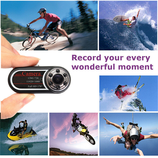 QQ5 Portable Mini Camera HD 1080p 720P Kamera Infrared Night Vision Mini DV Camera Camcorder 12 Mega Pixel Smallest Web Camera