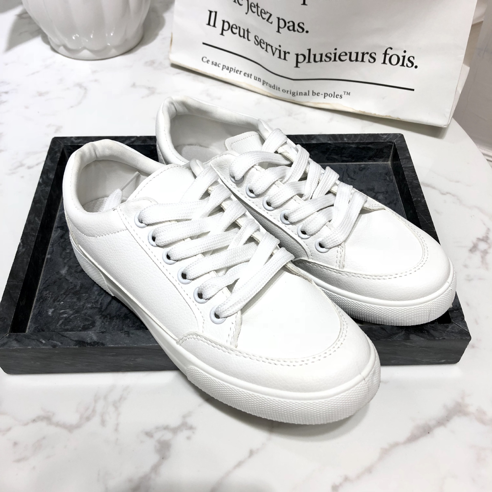 Walking shoes small white shoes women s soft sole shoes casual walking shoes NXS1 NXS17