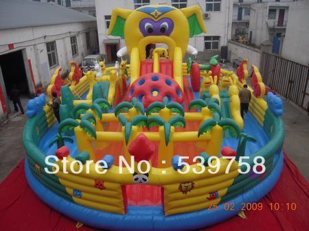 Factory direct inflatable trampoline, inflatable slides, inflatable toys, inflatable large toys