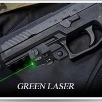 Laserspeed Mini Green Laser Sight Tactical Glock Accessories Beretta 92 Colt 1911 Airgun Air Rifle Mira Laser Red Glock Sight