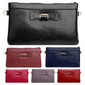 Fashion Cute Bow Zipper Mini Crossbody Wallet Purse Leather Women Handbag Envelope Bag Clutch Women Messenger Bag Bolsa Feminina