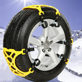 Coche de Doble Hebilla de Nieve Cadenas de Neumáticos Neumático de Coche Engrosamiento Antideslizante