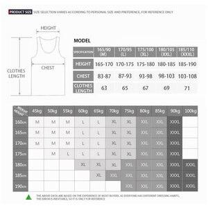Image 5 - Camiseta interior de algodón sin mangas, camiseta sin mangas para gimnasio, camisetas de Fitness para hombre, camiseta de entrenamiento para culturismo, tienda de fábrica