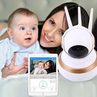 2017 New Hot Popular 100W Home Network Support Night Vision Video Baby Kid Monitor Recorder Safety