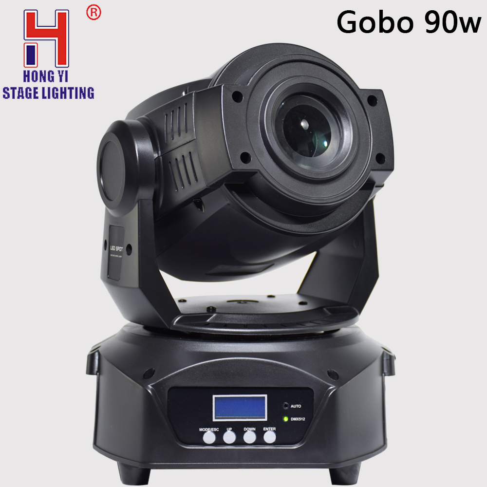 Mini moving head light lyres led 90W gobo zoom spot effect for stage party equipos de dj fiestas moving head powerfullyMini moving head light lyres led 90W gobo zoom spot effect for stage party equipos de dj fiestas moving head powerfully