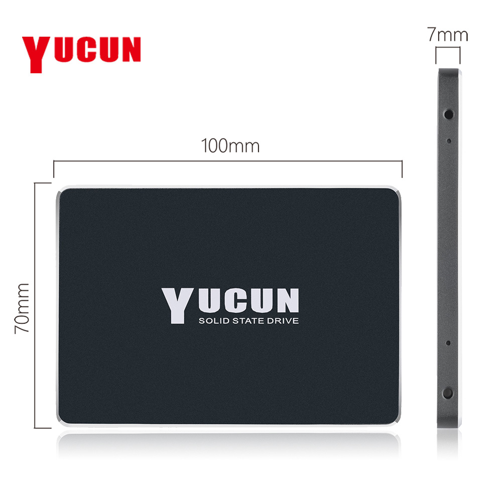 YUCUN Brand SATAIII SSD 240GB 480GB Internal Solid State Drive 2.5 inch HDD Hard Drive 250GB 500GB Laptop Desktop Industrial PC 4g ram 500gb hdd and 64g ssd expandable hard drive windows 10 system 13 3 inch laptop built in camera send mouse