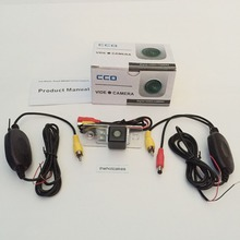 Автомобильная камера заднего вида/для SEAT Altea XL/Altea 4 2004~ /провод RCA или беспроводной HD широкоугольный объектив/CCD камера ночного видения