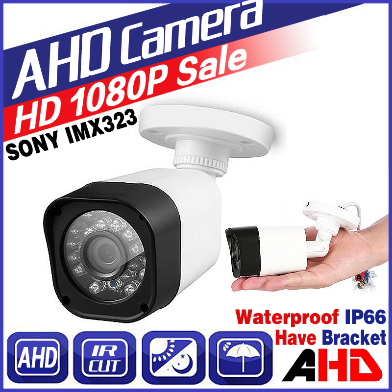 328BigSale Full AHD CCTV Mini Camera 720P/960P/1080P SONY IMX323 HD Digital 1.0MP 2.0MP IP66 24LED Infrared Small Bullet Vidicon