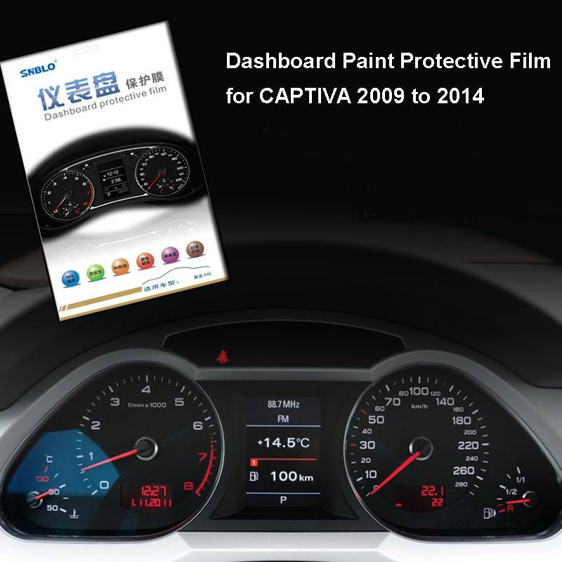 Car Styling Dashboard Paint Protective Film Sticker For Captiva 2009 To 2014 4h Scratchproof 99