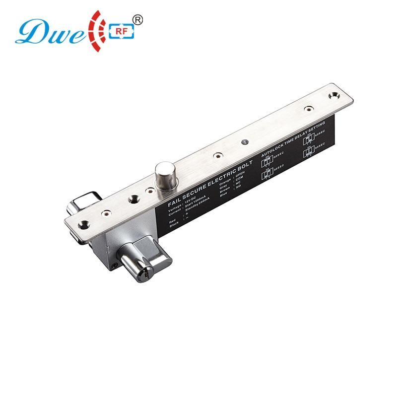 Здесь продается  DWE CC RF access control door lock 2000kg holding force sturdiness narrow door electric bolt with cylinder                        Безопасность и защита