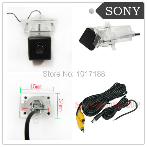 Car Rear View Reverse Parking Camera Waterproof LED Night Vision SONY CHIP FOR Mercedes Benz C