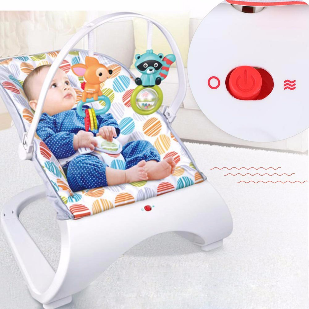 HTB1vPA4XpP7gK0jSZFjq6A5aXXaI Infant Baby Rocker Electric Rocking Chair Cradle Newborn Comfort Vibration Rocking Chair Soothing The baby's Artifact Sleeps