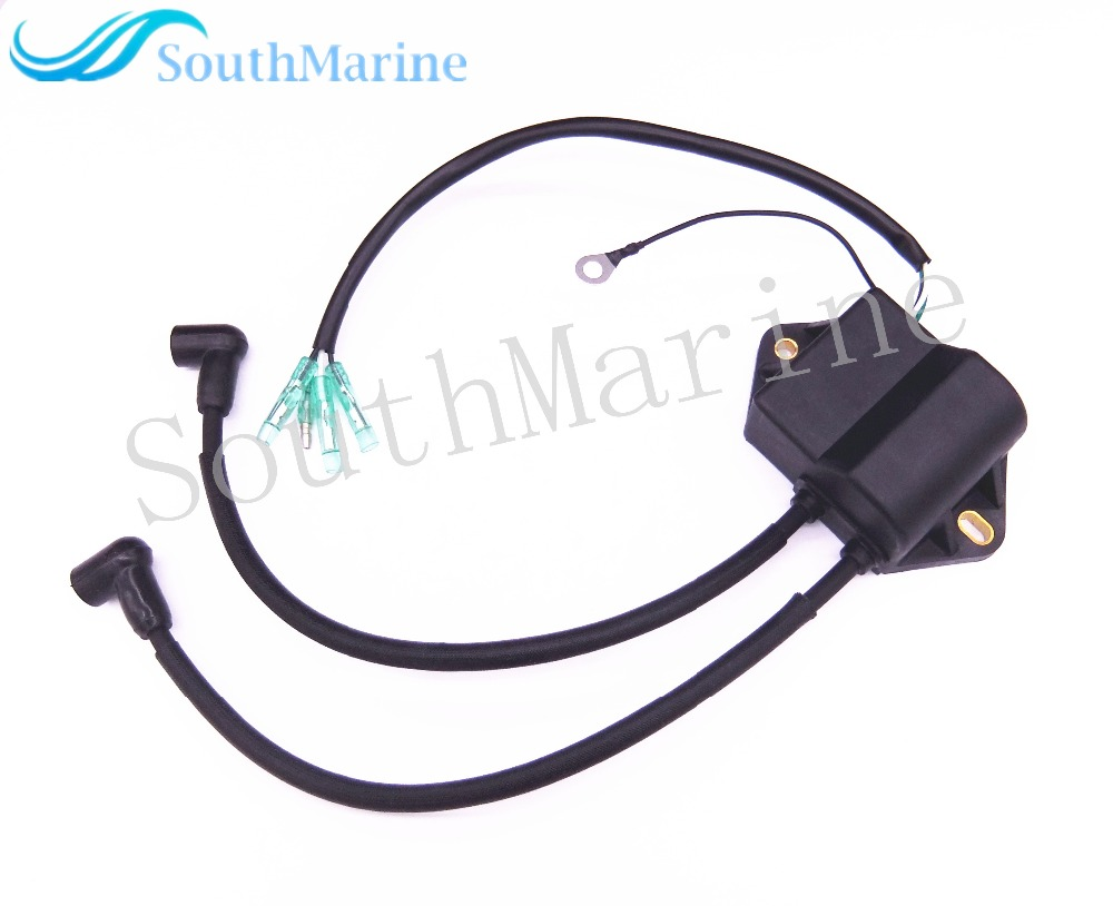 Boat Motor Ignition Coil Assy T8-05030000 T6-05030000 for Parsun 2-Stroke T6 T8 T9.8 Outboard Engine High Pressure Assy