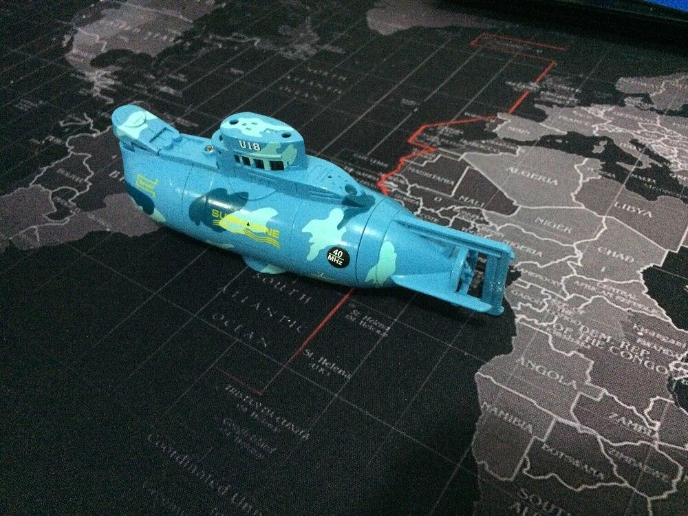 Мини Р/У подводные лодки электрические игрушки для детей подарок 40 мГц Радио пульт дистанционного управления подводной лодки со светодиодн…