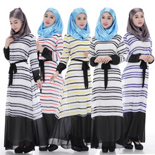 2017 Limited Caftan Sale Abaya Turkish Adult Arab Garment Hijab The New Muslim Women's Dress Chiffon Gown Hui Middle East Saudi