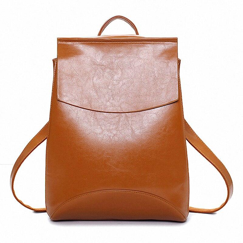 New 2016 Kanken Leather Backpack Mochilas Mujer Designer Bookbags For Teenage Girl Mochila Snoep Zakje Dier