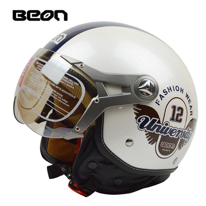 BEON B100 casque motorcycle helmet half face vintage Motorcycle helmet capacete motorcycles motorbike electric bicycle helmet все цены