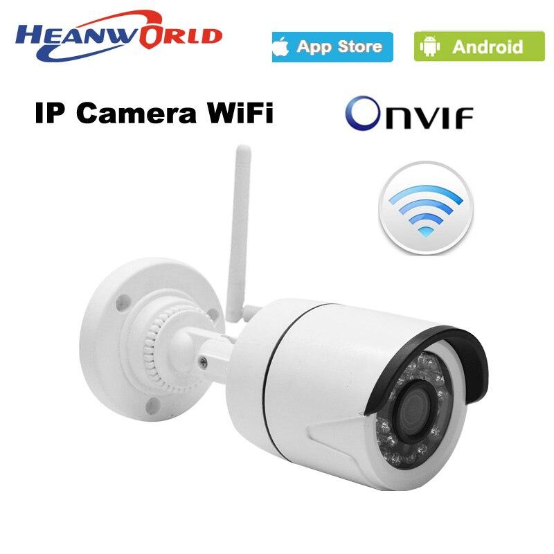 bilder für 720 P IP Drahtlose WIFI kamera mini 1.0MP Ip-kamera im freien Nachtsicht ONVIF CCTV Überwachungskamera Netzwerk IP Cam ABS kunststoff