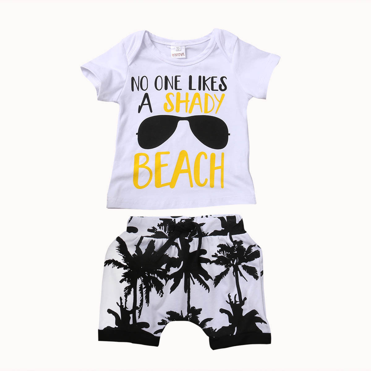 Toddler Newborn Baby Boy Clothes Set Letter Outfit Boys Short Sleeve T-shirt Tops Pants Shorts Children Clothing 0-3T 2Pcs infant baby boy girl 2pcs clothes set kids short sleeve you serious clark letters romper tops car print pants 2pcs outfit set