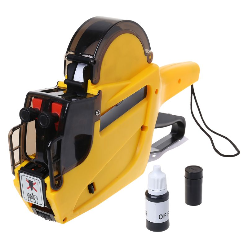 MX-6602 10 Digits 2 Lines Price Tag Marker Pricing Gun Price Labeller For Supermarket Retail Store