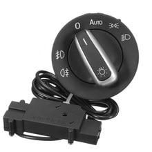 Car Light Switch Chrome With Headlight Sensor Control for Passat B6 Jetta Golf MK5 OEM 5ND 941 431B