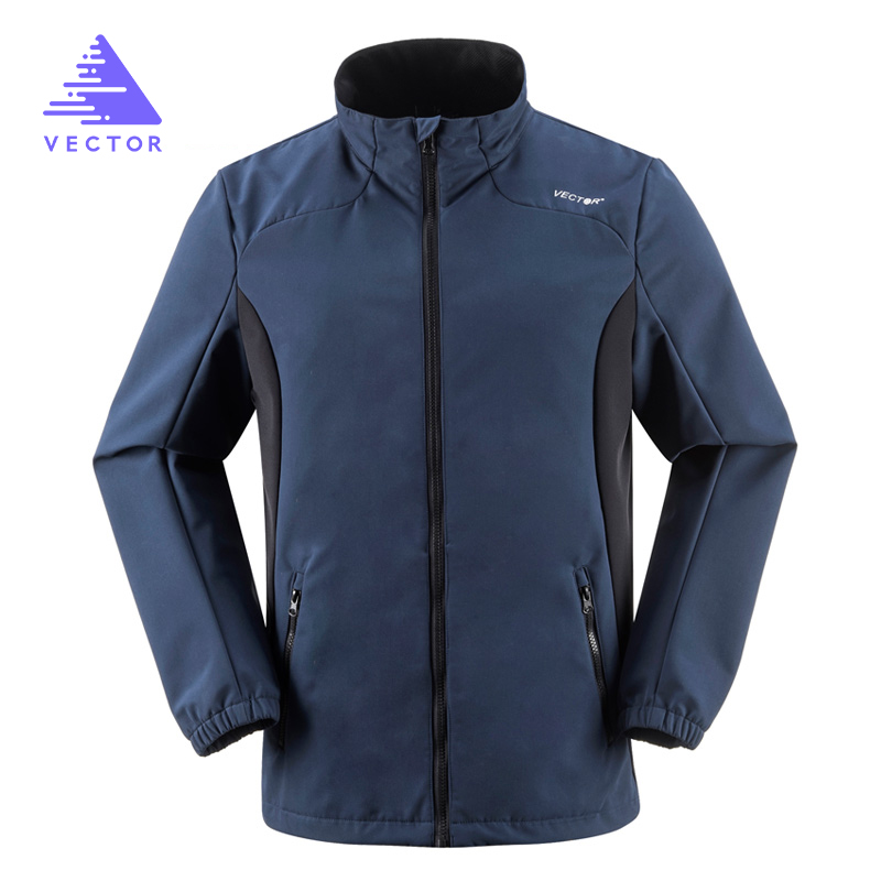 VECTOR Softshell Jacket Men Polyester Camping Hiking Jackets Outdoor  Windproof Waterproof Jacket Male Rain Windstopper 60001