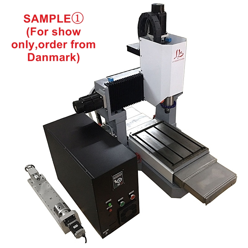 LY 3040 full cast iron 1.5KW 2.2KW 3.5KW CNC engraving machine step motor standard version 3 axis Z axis 170mm 220V (1)