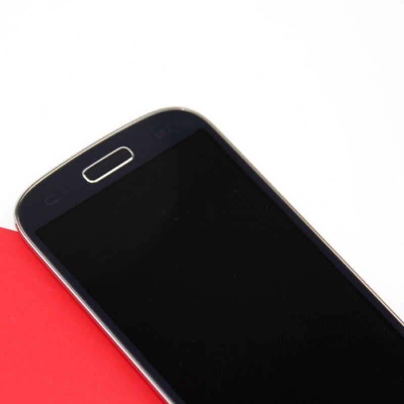 لسامسونج غالاكسي S4 البسيطة GT-i9195 I9190 I9195 I9192 شاشة الكريستال السائل شاشات لمس للهاتف المحمول محول الأرقام الجمعية استبدال أجزاء