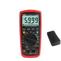 UNI T UT139E TRMS Digital Multimeter 6000 Count DMM AC DC Multi meter Analog bar graph LPF LoZ NCV Temperature capacitor Tester