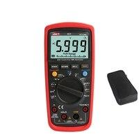 UNI T UT139E True RMS 6000 Analog NCV เครื่องทดสอบ LCD DMM AC DC LPF Loz ความถี่อุณหภูมิ Capacitor ทดสอบฟรีกระเป๋า