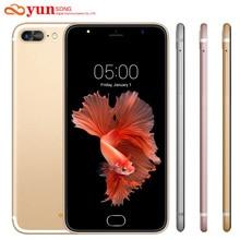 2017 Новый A7 Плюс Мобильный Телефон 5.5 дюймов 13MP камера смартфон mtk6580 quad core телефон android 5.1 мобильный телефон gsm/wcdma 3 Г