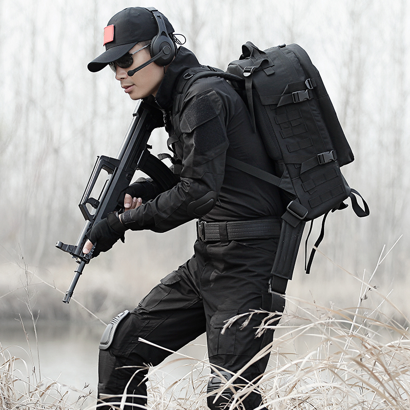 Military Uniform Army CamouflageTactical Clothing Men Female Uniforme Militar Combat Shirt CS Hunting Set Clothes With Knee Pads