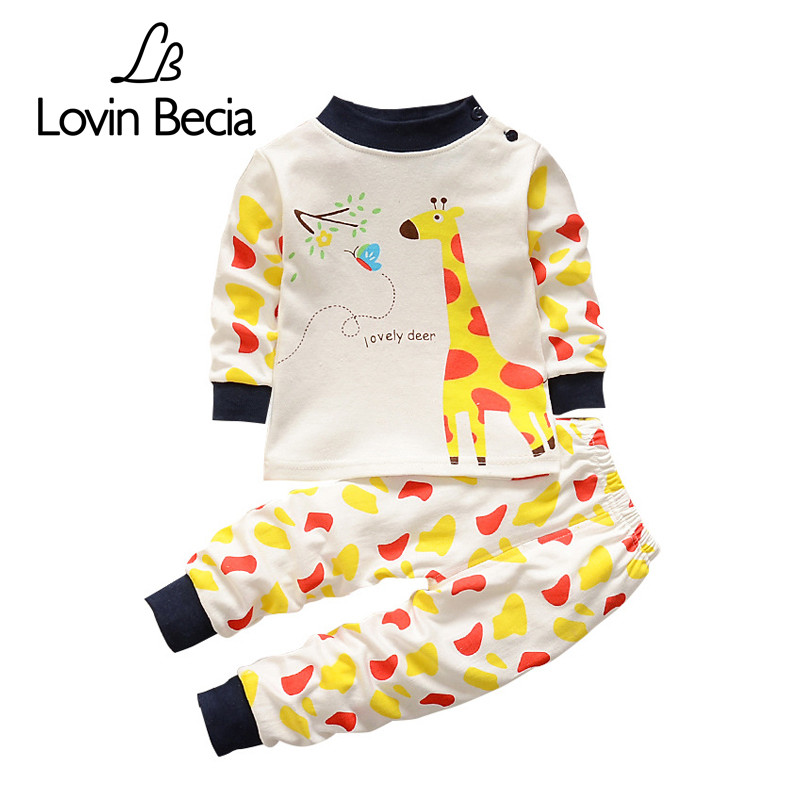 LOVIN BECIA boys toddler children's clothing sets baby suit