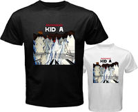 OKOUFEN New RADIOHEAD KID A Rock Band Men T Shirt